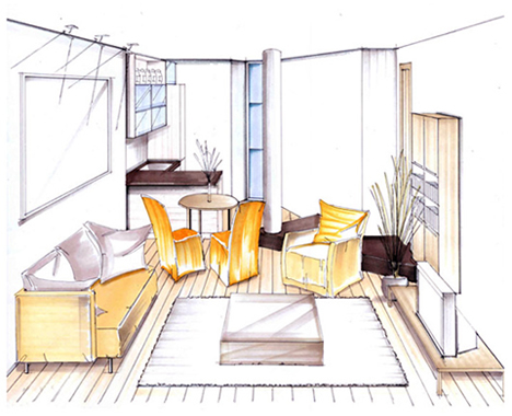 Relax and hire an interior designer Hire interior designer student