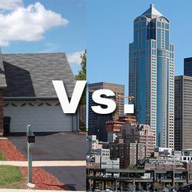 Residential vs. Commercial Real Estate