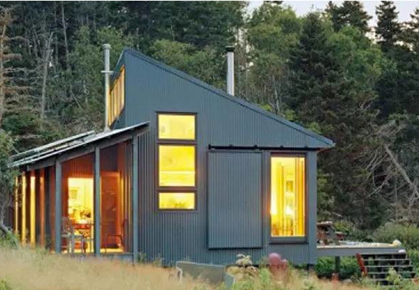 Eco-friendly cottage house