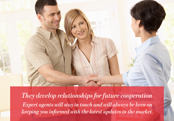 They develop relationships for future cooperation