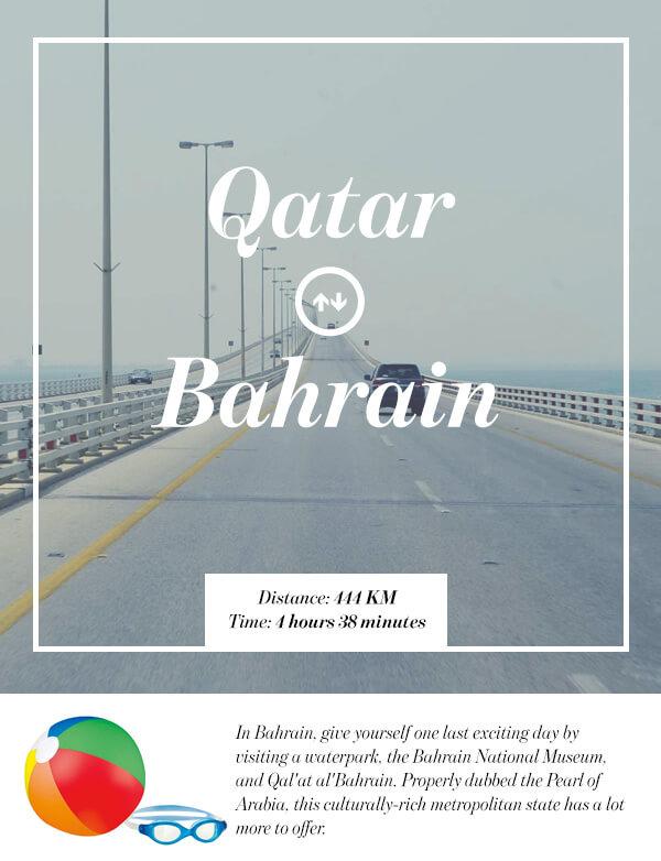 Doha, Qatar to Bahrain