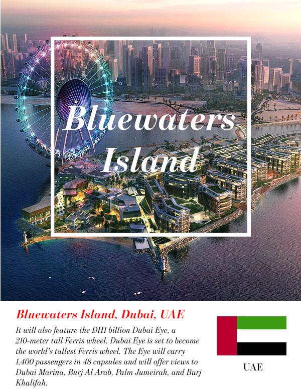 Bluewaters Island, Dubai, UAE