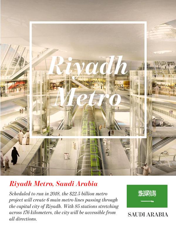 Riyadh Metro, Saudi Arabia