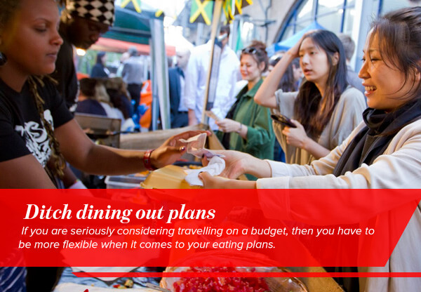 Ditch dining out plans
