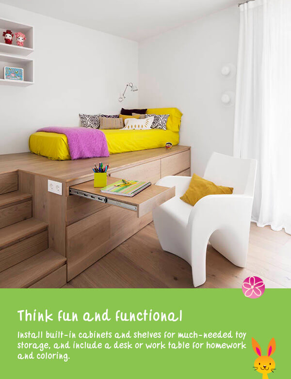Think fun and functional