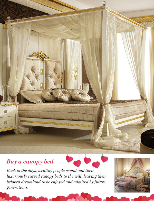 Buy a canopy bed