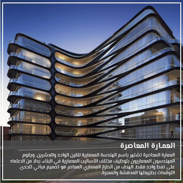 العمارة المعاصرة