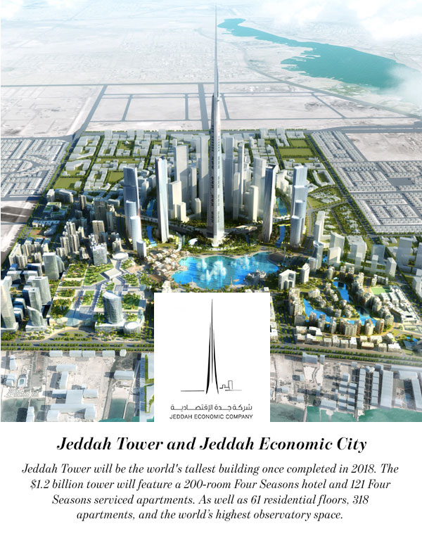 Jeddah Tower and Jeddah Economic City