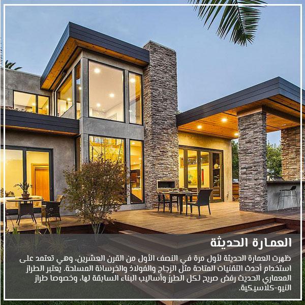 العمارة الحديثة