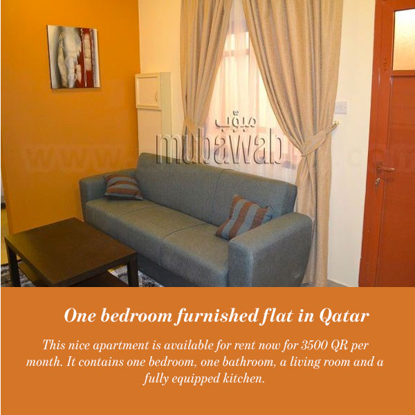 One bedroom apartment in Qatar