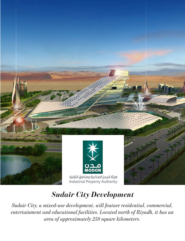 Sudair City Development