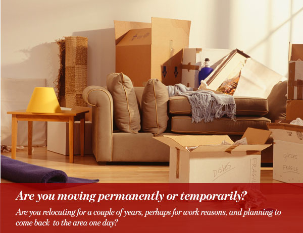 Are you moving permanently or temporarily?