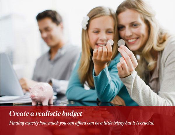 Create a realistic budget