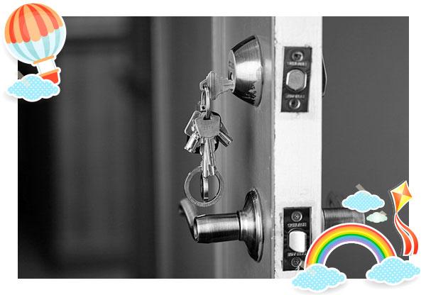 مفاتيح الباب