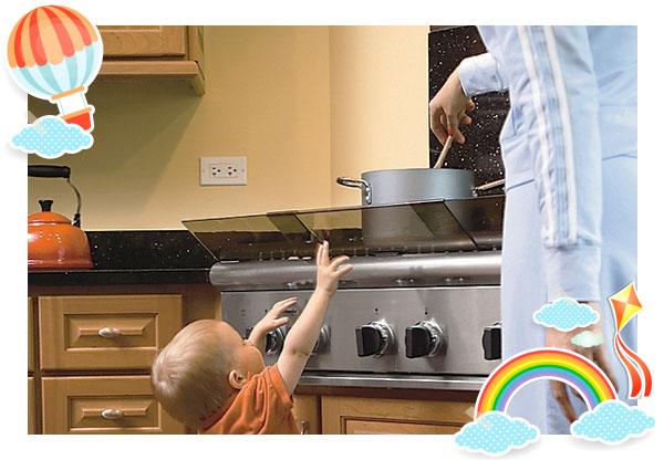 Mind the stove