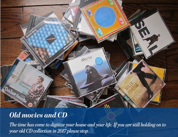 6-Old movies and CDs