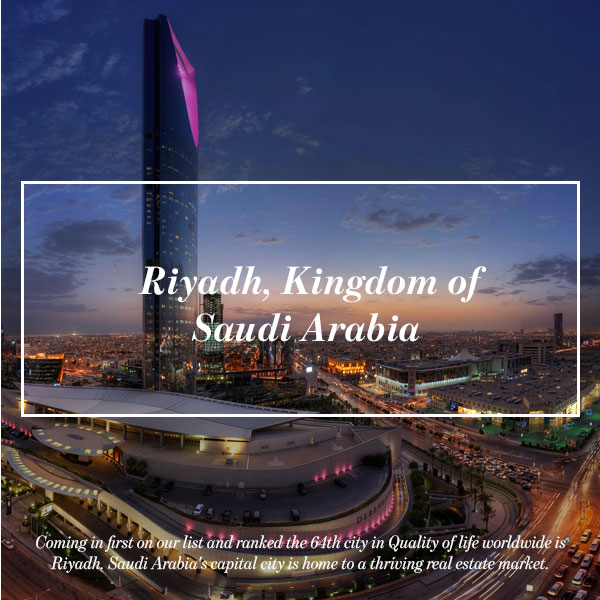 Riyadh, Kingdom of Saudi Arabia