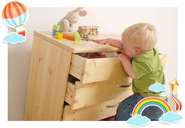 Secure furniture in place