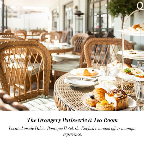 The Orangery Patisserie & Tea Room