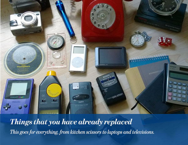 Things that you have already replaced