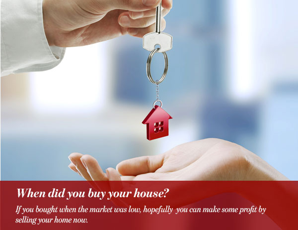 When did you buy your house?