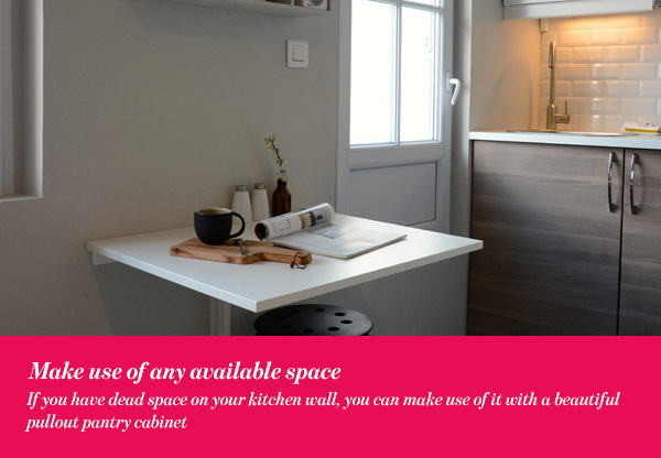 Make use of any available space