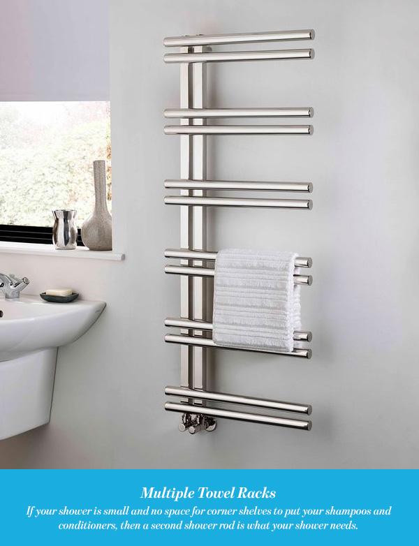 Multiple Towel Rack Bathroom