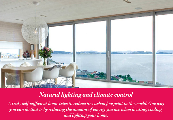 Natural lighting and climate control