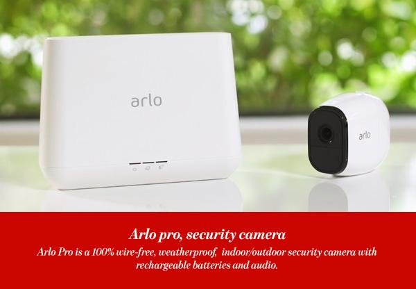 Arlo pro, security camera