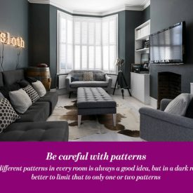 Embrace The Dark Side:  Decorating With Dark Colors