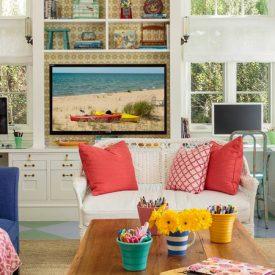 كيف تقوم بتصميم غرفة معيشة تلائم جميع أفراد الأسرة