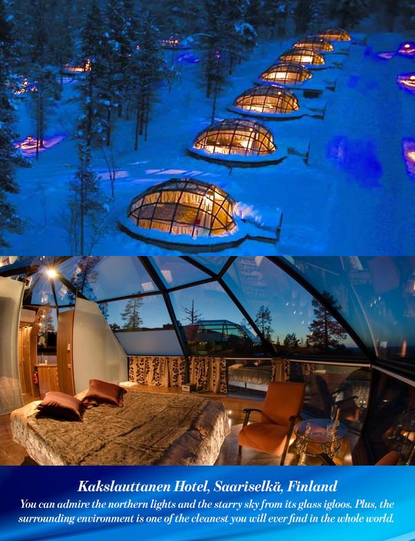 Kakslauttanen Hotel, Saariselkä, Finland