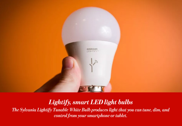Lightify, smart LED light bulbs
