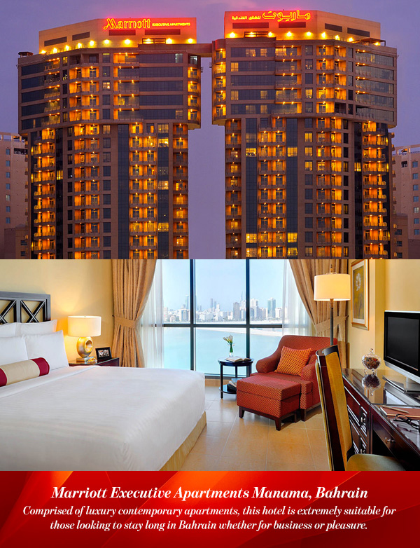Marriott Executive Apartments Manama Bahrain Mandegar Info