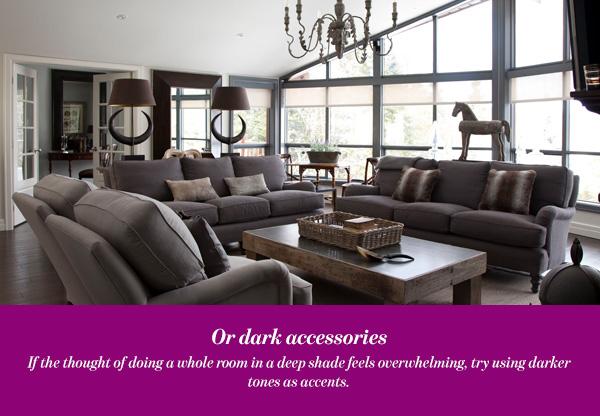 Or dark accessories