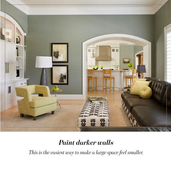 Paint darker walls