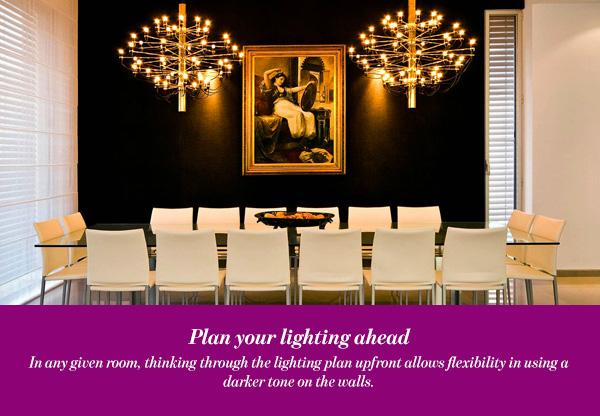 Plan your lighting ahead