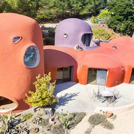 Unusual Design: Real Life Houses Inspired By Cartoon