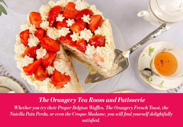 The Orangery Tea Room and Patisserie