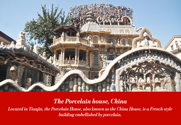 The Porcelain house, China