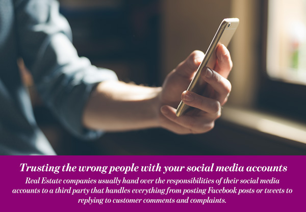 Trusting the wrong people with your social media accounts