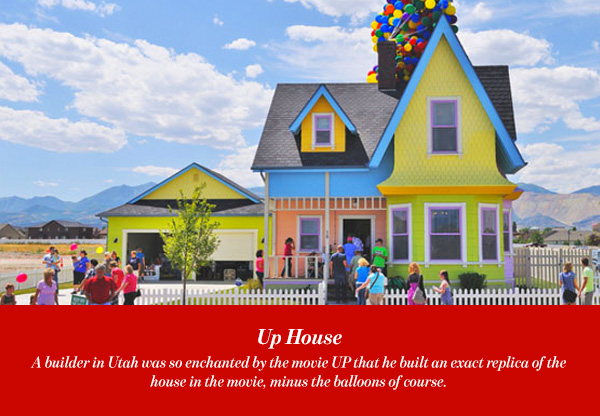 Cartoon Houses Real Life Houses Inspired By Cartoon