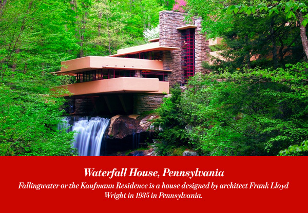 Waterfall House, Pennsylvania