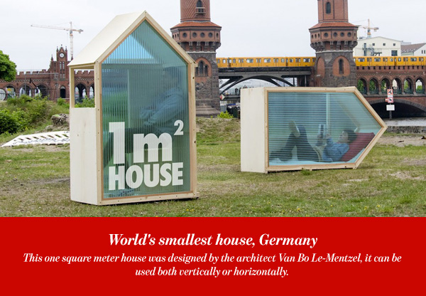 World's smallest house, Germany