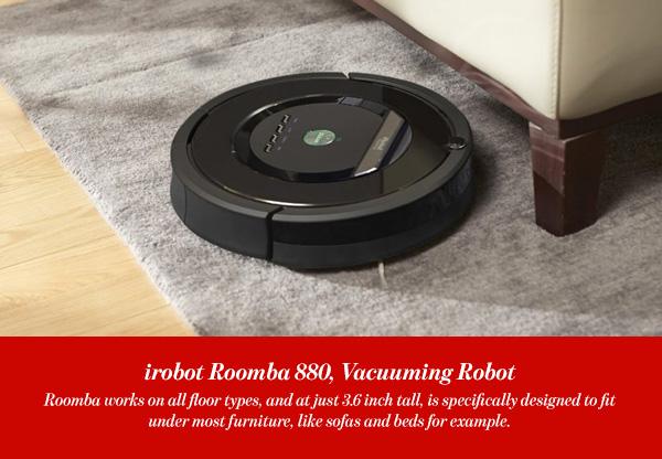 irobot Roomba 880, Vacuuming Robot