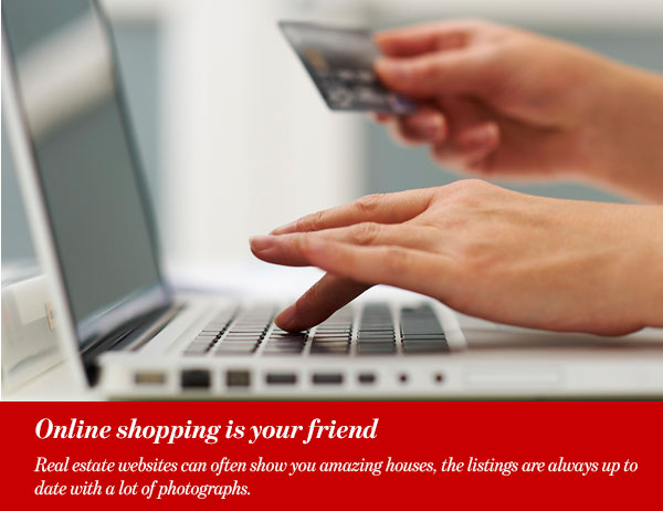 Online shopping is your friend