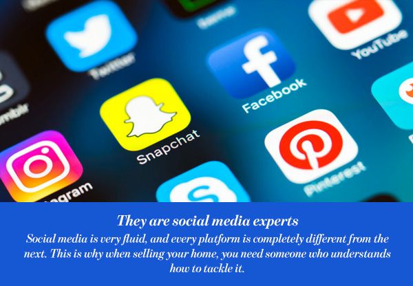 They are social media experts