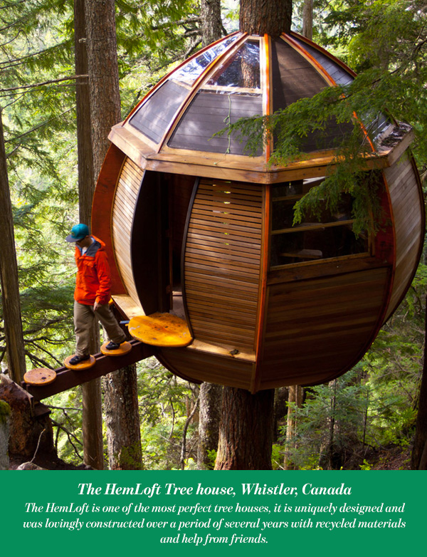 The HemLoft Tree house, Whistler, Canada