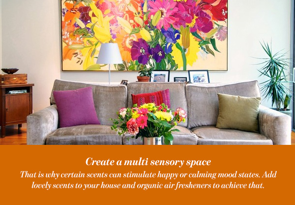 Create a multi sensory space