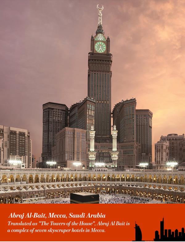 Abraj Al-Bait, Mecca, Saudi Arabia